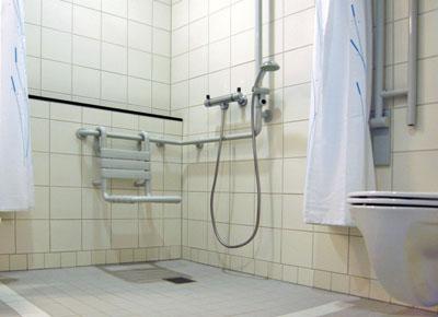 waschtisch behindertengerecht ma e modern dusche. Black Bedroom Furniture Sets. Home Design Ideas