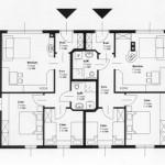 Ferienwohnungen Vive Diem, Plan Appartement