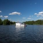 TMB Barrierefrei auf dem Boot.