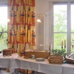 INT 129 Gästehaus am Mühlenberg  Bufett Gesamtansicht