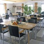 INT 129 Gästehaus am Mühlenberg  Frühstücksraumansicht